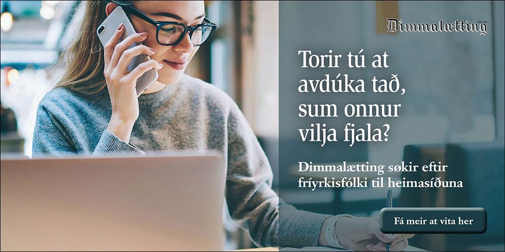 Dimmalætting - Fríyrkisfólk